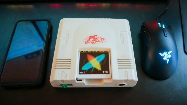 PC Engine Cute to Scale