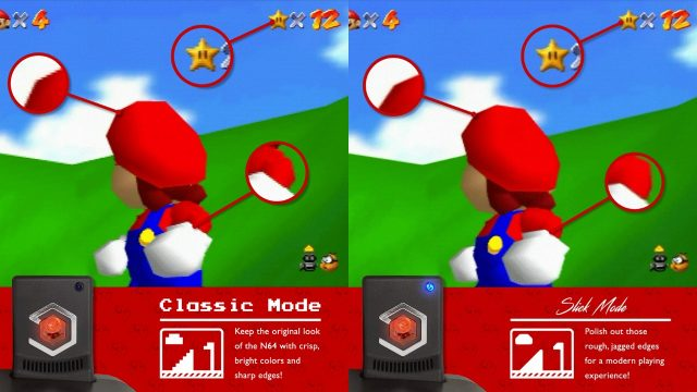 Super 64 Classic and Slick mode review