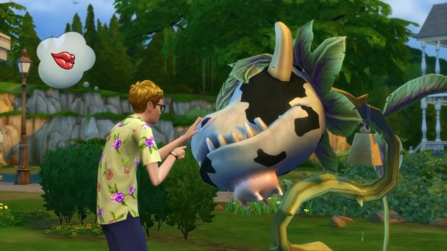 The Sims 4 Cowplant