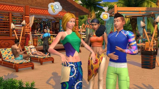 The Sims 4 Island Life What is the script call failed error
