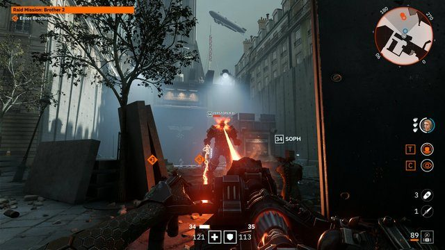 Wolfenstein Youngblood Brother 2 approach