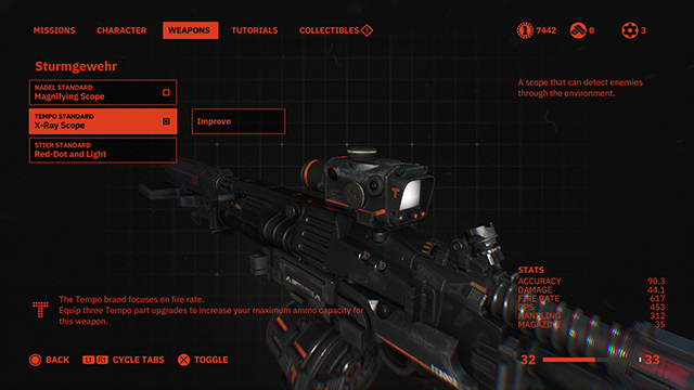 Wolfenstein Youngblood Ammo Storage | How to increase and upgrade it