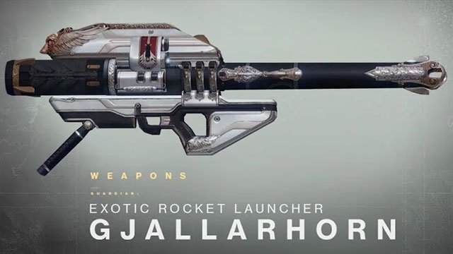 Destiny 2 Gjallarhorn leak hints at the overpowered rocket launcher's return