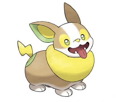 pokemon sword and shield official art yamper