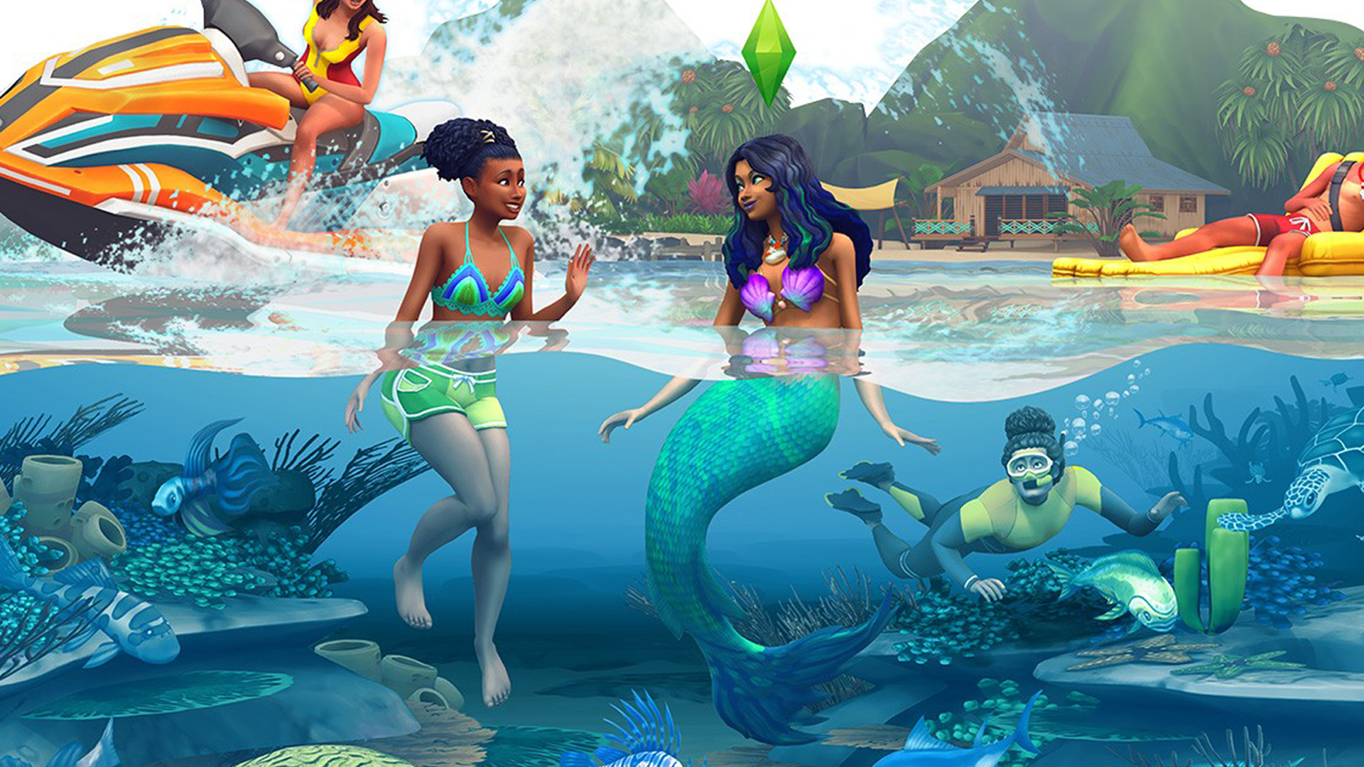 Sims 4 How to Become a Mermaid