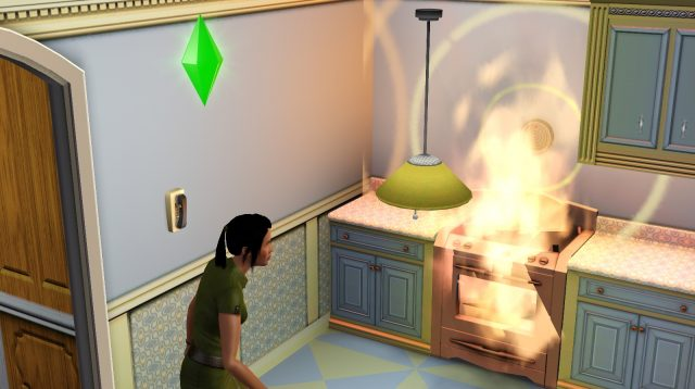 the sims 4 fire