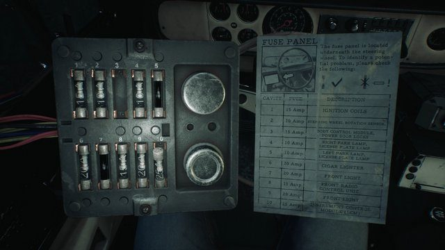 Blair Witch Truck Puzzle Fuse Box
