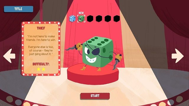 Dicey Dungeons Thief Gameplay