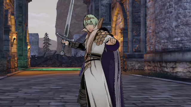 Fire Emblem Three Houses Enlightened One class
