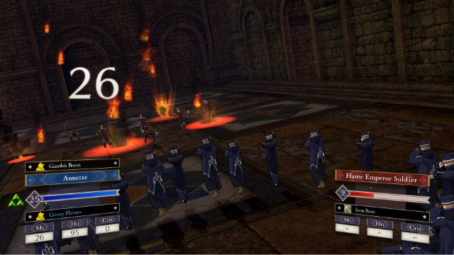 Fire Emblem Three Houses Review Gambit Boost