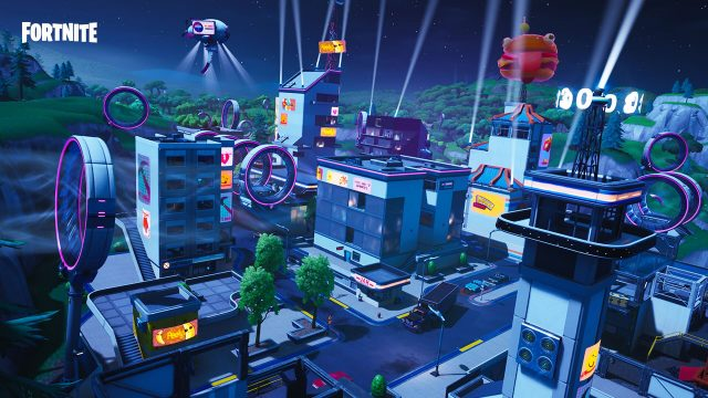 Fortnite Tilted Town
