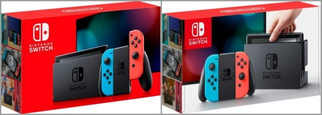 How do I tell if I'm getting the new Nintendo Switch