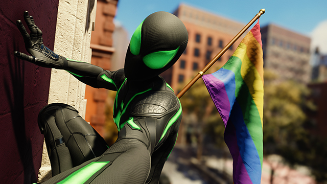 Spider-Man PS4 LGBTQ representation created a 'better version of our world,' says dev