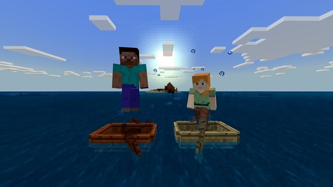 Minecraft Heart Of The Sea Explanation Location And Conduit Building Guide Gamerevolution