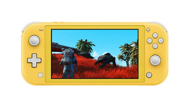 No Man's Sky Switch Version