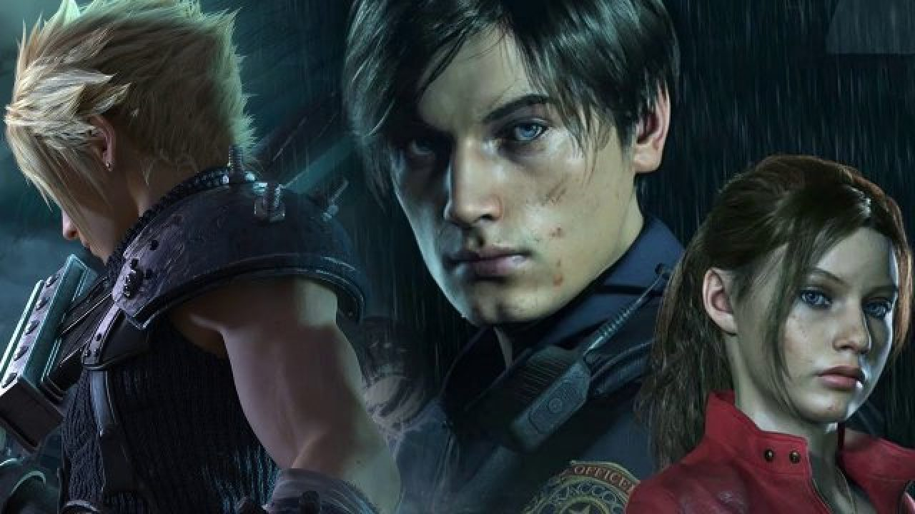 Resident Evil 2 Remake Cloud Strife Mod Mixes Re And Ff7