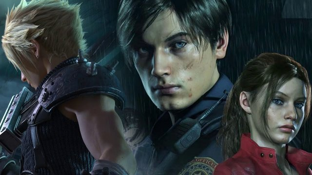 Resident Evil 2 Remake Cloud Strife mod