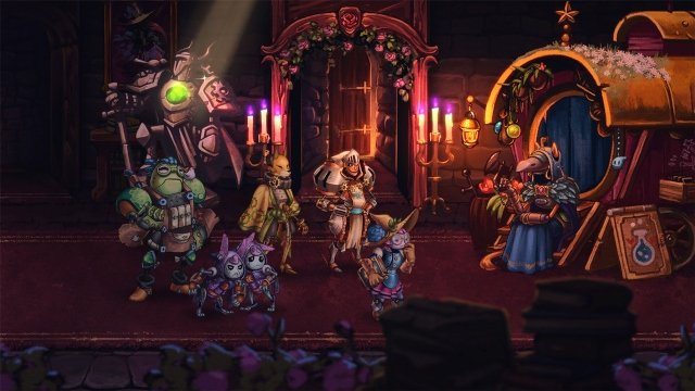 SteamWorld Quest Free Update New Game Plus Legend Remix Difficulty Mode Art Gallery