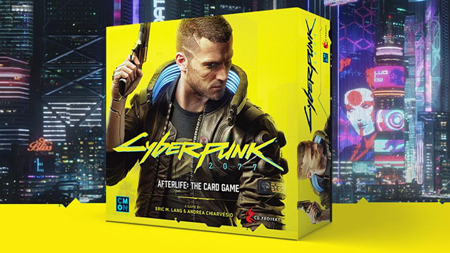 Cyberpunk 2077 card game announced