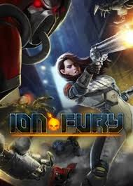 Box art - Ion Fury
