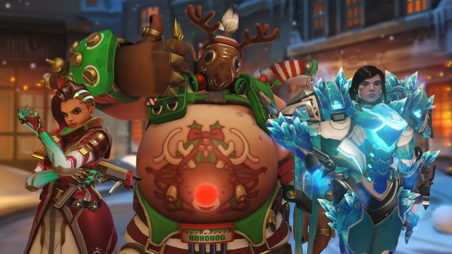 overwatch holiday maps
