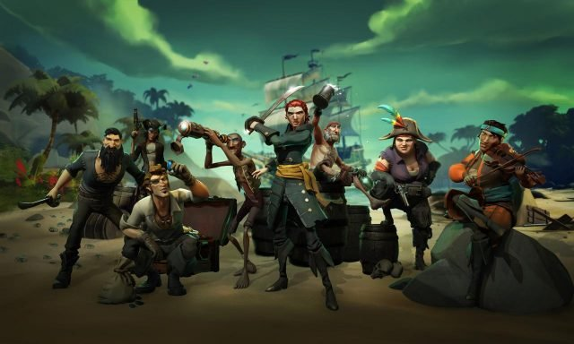 sea of thieves Mixer OBS
