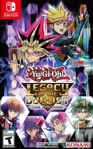 Box art - Yu-Gi-Oh Legacy of the Duelist Link Evolution