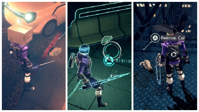 Astral Chain Feline Friends guide All Astral Chain cat locations