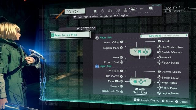Astral Chain How to play co-op mode