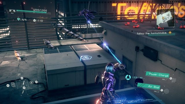 Astral Chain cat location 7.2