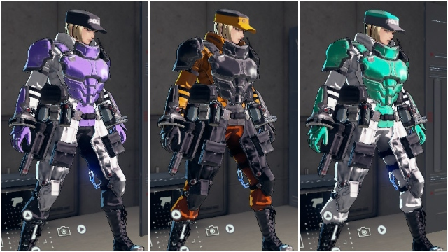 Astral Chain equipment color sets How to unlock all Legion Color Slots