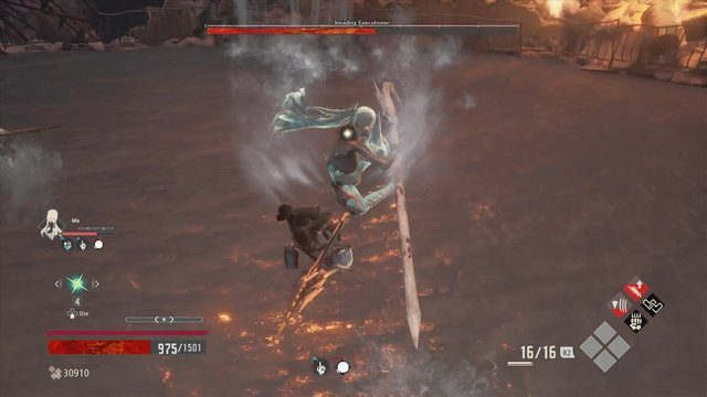 Code Vein Invading Executioner Riding Spear