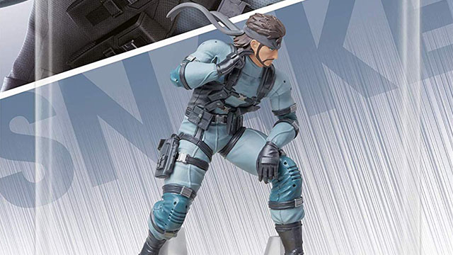 Solid Snake amiibo compatible games list