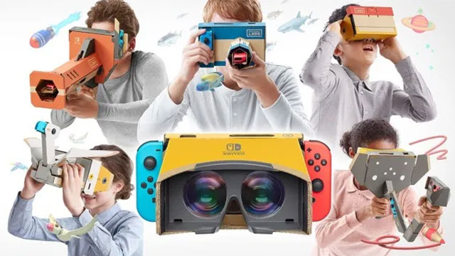 Switch VR headset patented by Nintendo