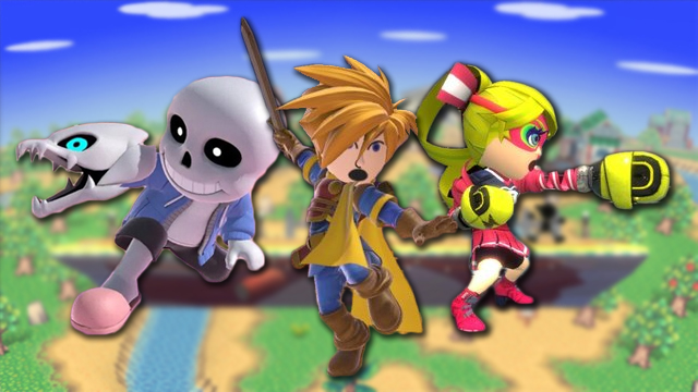 The Undertale Sans skin and other Smash Ultimate Mii costumes that should be actual fighters