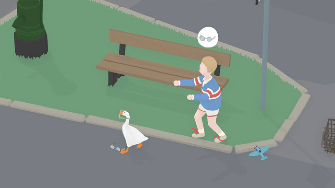 foto de Untitled Goose Game | How to make the boy wear the wrong glasses ...
