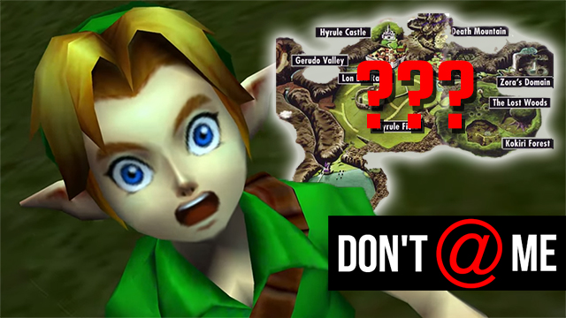 Don't @ Me | Ocarina of Time is frustrating as hell to navigate, even with Navi