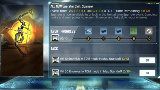 Call of Duty Mobile Sparrow Operator Skill guide How to Unlock