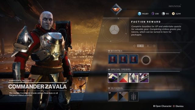 Destiny 2 Bright Dust Bounties and farming methods
