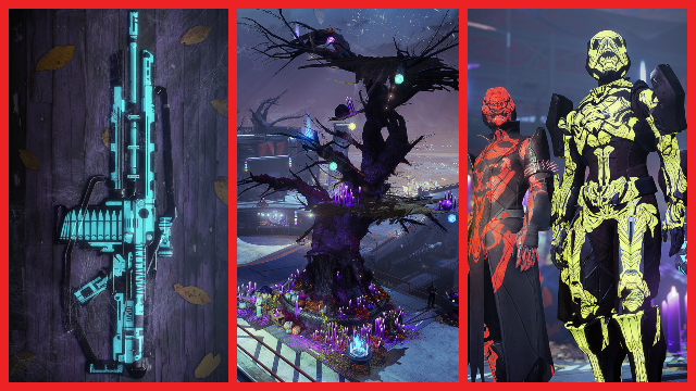Destiny 2 Festival of the Lost 2019 Halloween event _ Masks, armor, Brayech Werewolf, Sparrows, & more
