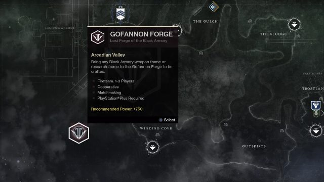 Destiny 2 how to access forge ignition activity