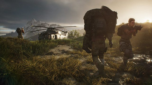 Ghost Recon Breakpoint down