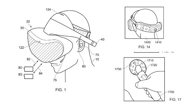 News Sony patent reveals multiple-camera PlayStation VR headset