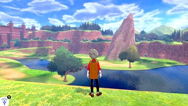 Pokemon Sword and Shield map size Wild Area