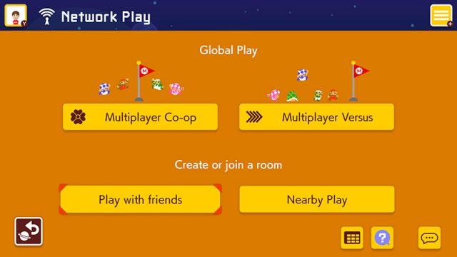 play with friends in Super Mario Maker 2
