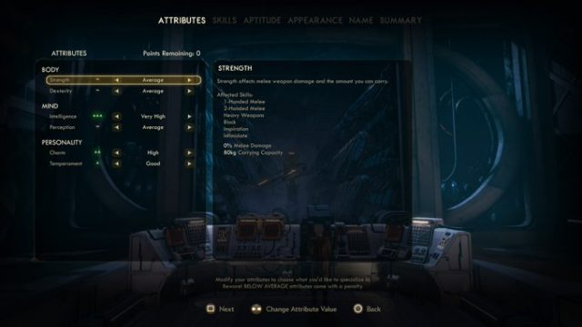 The Outer Worlds Best Builds sniper attributes