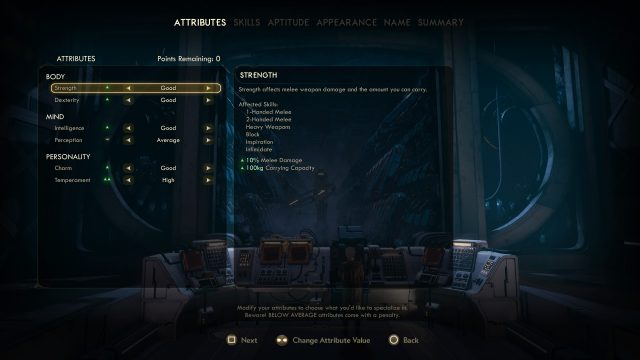 the outer worlds best builds attributes