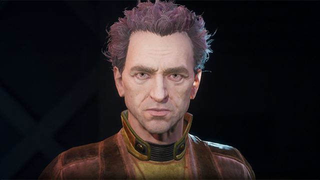 The Outer Worlds Major characters voice actors