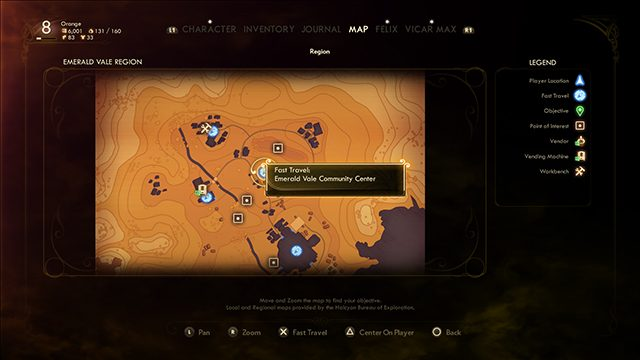 The Outer Worlds Fast Travel | How to do it