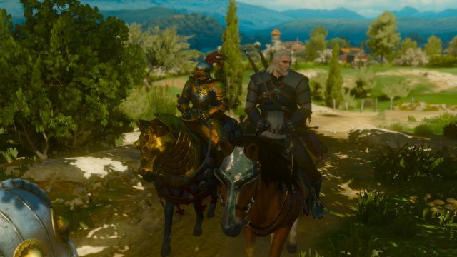 The Witcher 3 Switch motion blur